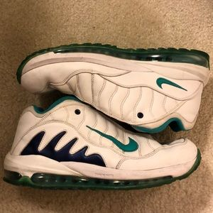 2012 Nike Air Griffey's White/Teal/Purple SIZE 12